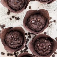 Amazing Triple Chocolate Muffins