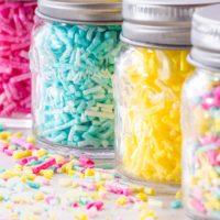 How to Make Sugar-Free Sprinkles!