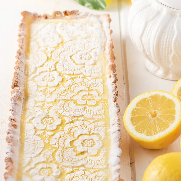 Lemon Cream Tart - It's So Good! (Low Carb & Keto)