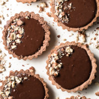 Hazenut Chocolate Ganache Tarts (Low Carb & Gluten Free)