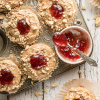 Low Carb PB&J Muffins - A Great Breakfast Idea (Gluten Free Too!)