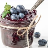 How to Make a Shelf Stable Sugar Free Blue Berry Jam ( plus it's low carb!)