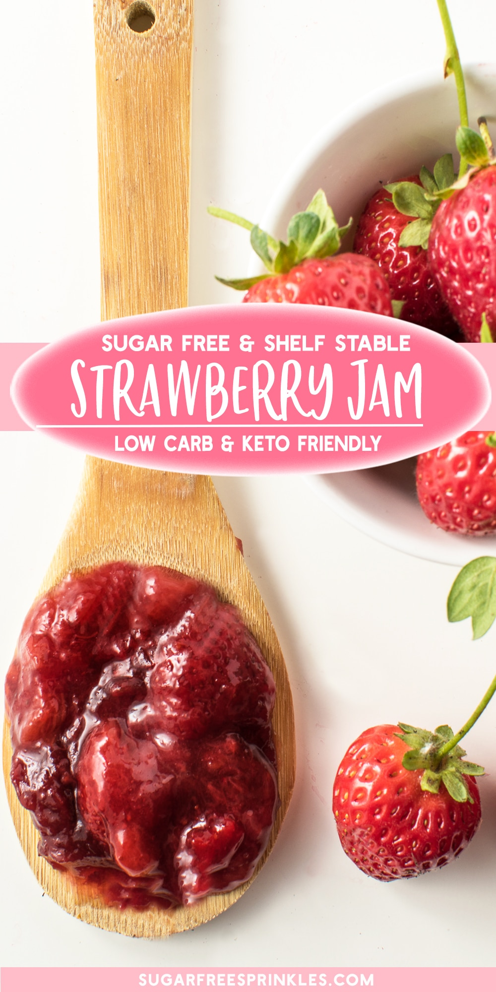 Sugar-Free Strawberry Jam - All the Taste Without the Carbs (shelf stable!)