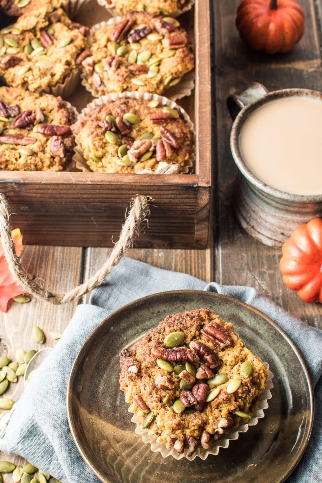 Fall-Inspired Gluten-Free Pumpkin Muffins