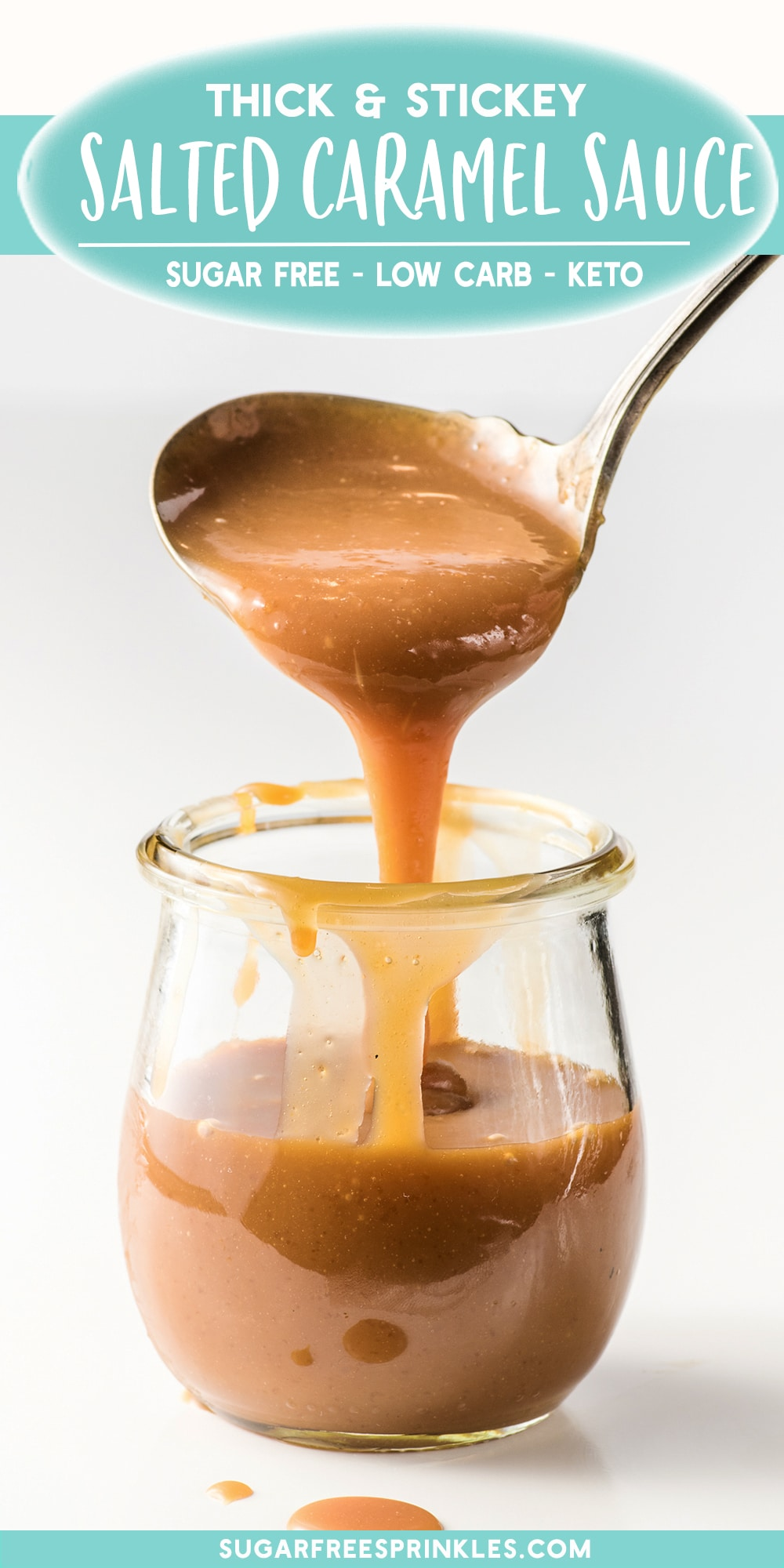 Sticky, gooey, and stable.  This keto caramel sauce doesn\'t solidify when cold and has a perfectly smooth texture even out of the fridge.   This is a great topping for low carb ice creams, keto-friendly desserts, and makes for a sweet low carb treat.