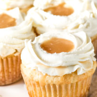 Salted Caramel Keto Cupcakes (Gluten-Free & Low Carb)