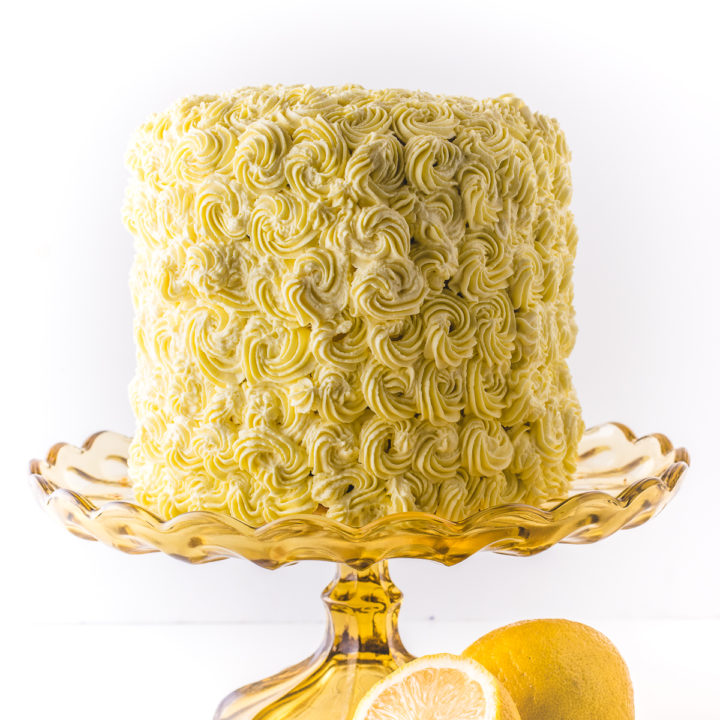 Luscious Low Carb Lemon Cake (Gluten-Free & Keto Friendly)