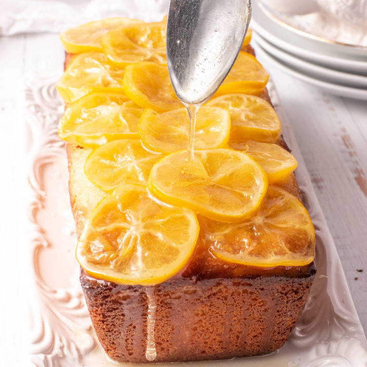 Low Carb Lemon Pound Cake With Candy Lemons