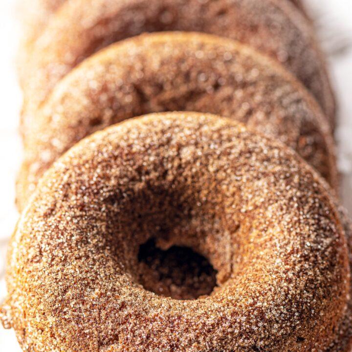 Keto Pumkin Spice Donuts